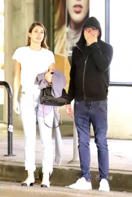CAMILA MORRONE and Leonardo Dicaprio Out for Dinner in Los Feliz 06/10/2019