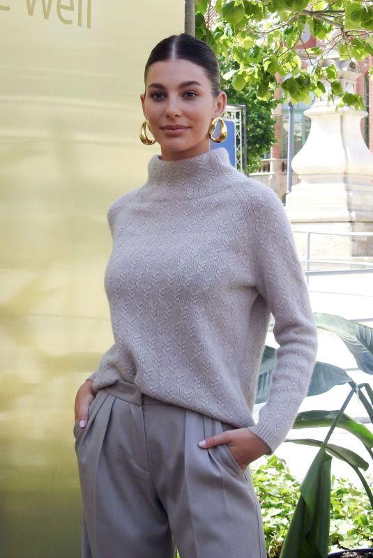 CAMILA MORRONE at Casademut Photocall at 080 Bbarcelona Fashion Week 06/25/2019