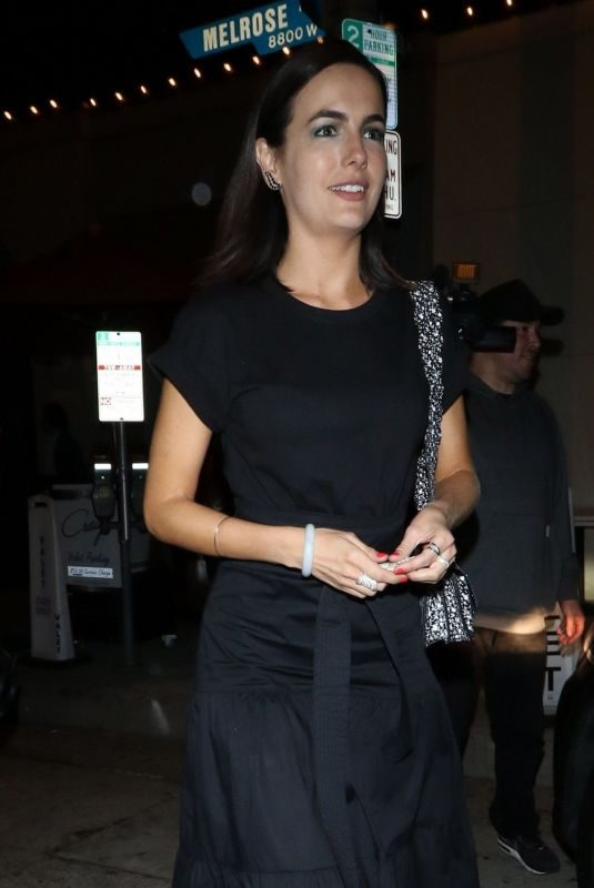 CAMILLA BELLE at Craig's Restaurant in West Hollywood 06/17/2019