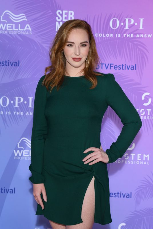 CAMRYN GRIMES at 59th Monte Carlo TV Festival: TV Series Party 06/15/2019