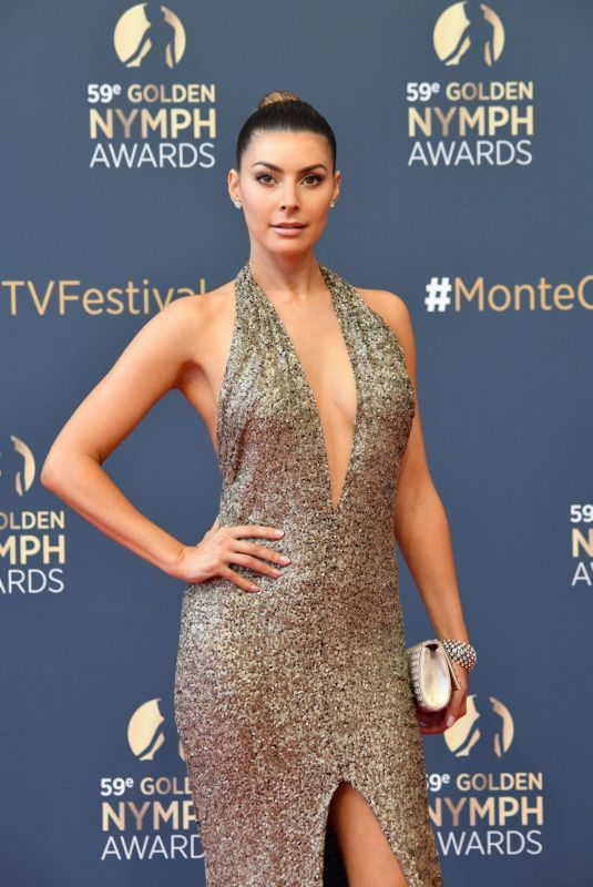 CANDICE PASCAL at Golden Nymph Awards Ceremony at 59th Monte Carlo TV Festival 06/19/2019