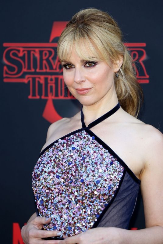 CARA BUONO at Stranger Things, Season 3 Premiere in Santa Monica 06/28/2019