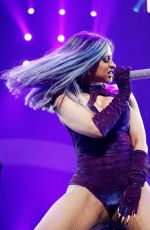 CARDI B Performs at Staples Center Concert during BET Experience in Los Angeles 06/22/2019