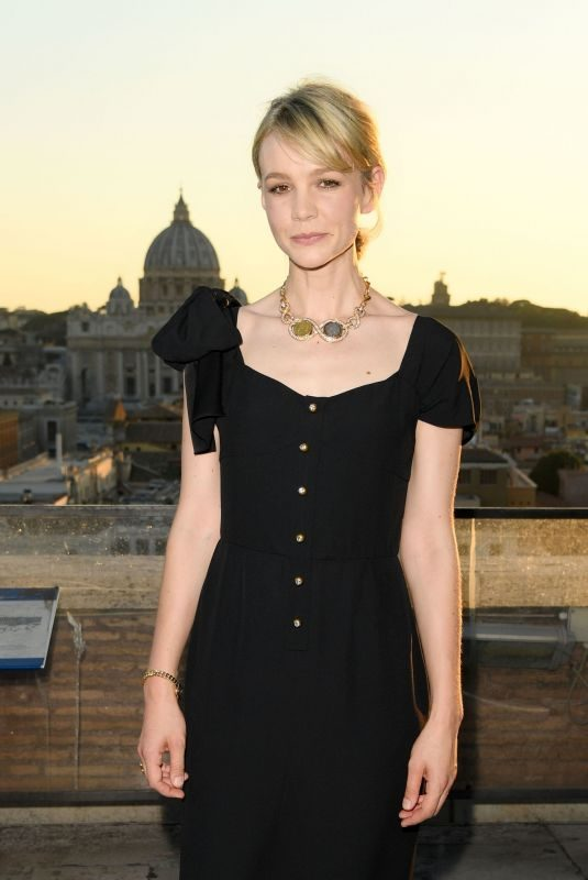 CAREY MULLIGAN Bvlgari – The Story, the Ddream Exhibitio in Rome 06/25/2019