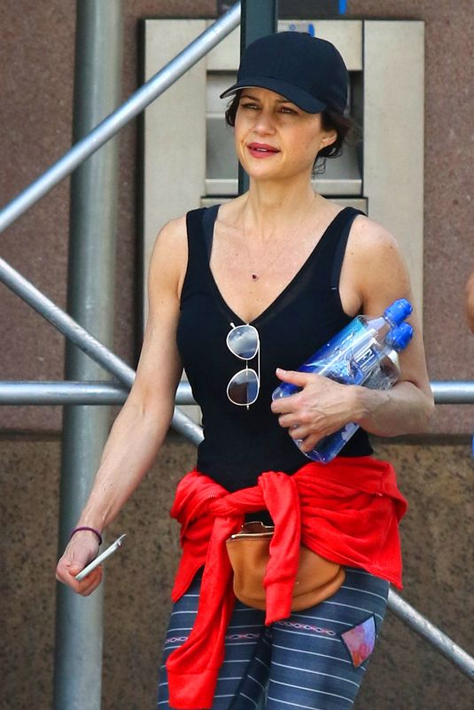CARLA GUGINO Leaves a Gym in New York 06/07/2019