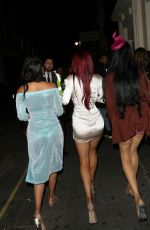 CARLA HOWE Arrives at Harrow Dental Practice x Brain Tumour Charity Gala Dinner in London 06/22/2019