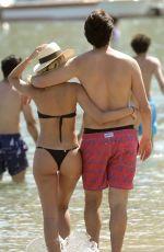 CAROLINA DIAS in Bikini at Ricardo Kaka at a Beach in Mykonos 06/24/2019