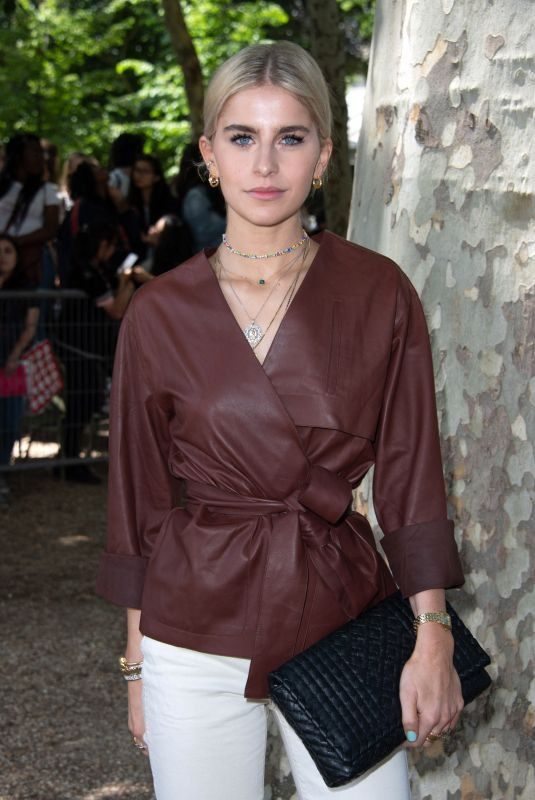 CAROLINE DAUR at Berluti Show at Paris Fashion Week 06/21/2019
