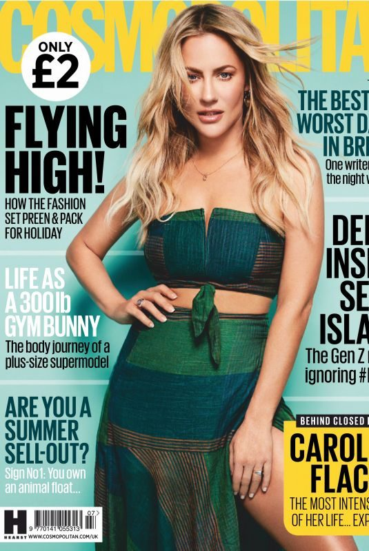 CAROLINE FLACK in Cosmopolitan Magazine, UK July 2019