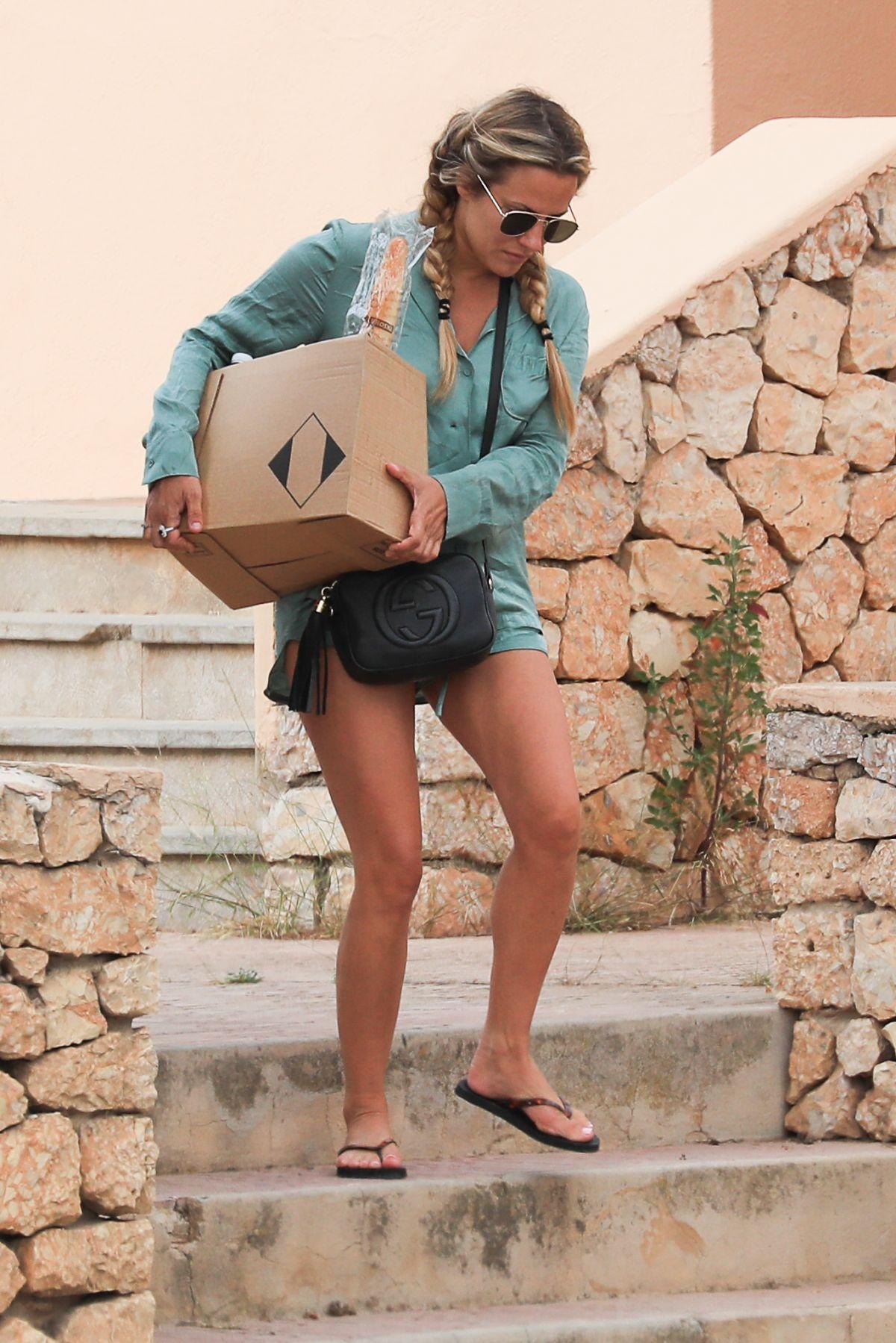 Caroline Flack Out Shopping In Ibiza 06 12 2019 Hawtcelebs