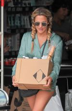 CAROLINE FLACK Out Shopping in Ibiza 06/12/2019