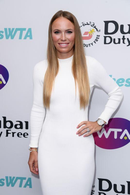 CAROLINE WOZNIACKI at Dubai Futy Free WTA Summer Party in London 06/28/2019