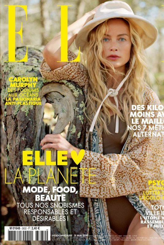 CAROLYN MURPHY in Elle Magazine, France May 2019