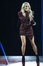 CARRIE UNDERWOOD Performs at Fiserv Forum in Milwaukee 06/20/2019