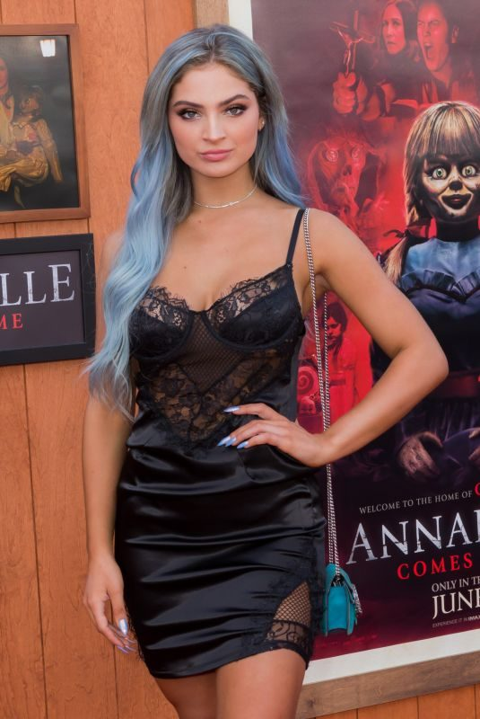 CARRINGTON DURHAM at Annabelle Comes Home Premiere in Los Angeles 06/20/2019