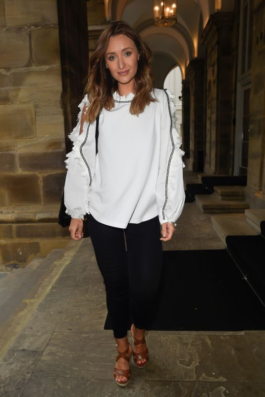 CATHERINE TYLDESLEY at Peter Street Kitchen Restaurant in Manchester 06/11/2019