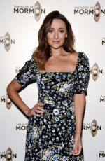 CATHERINE TYLDESLEY at The Book of Mormon Press Night in Manchester 06/12/2019