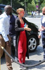 CELINE DION Out and About in Paris 06/26/2019