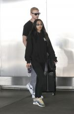 CHANTEL JEFFRIES at Los Angeles International Airport 06/23/2019