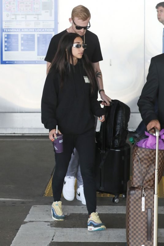 CHANTEL JEFFRIES at Los Angeles International Airport 06/23/2019
