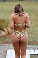 CHARLOTTE CROSBY in Bikini on Vacation in Ibiza 06/15/2019