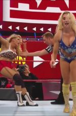 CHARLOTTE FLAIR vs LACEY EVANS - A Worked Shoot Match 06/03/2019