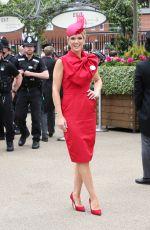 CHARLOTTE HAWKINS at Ladies Day at Royal Ascot 06/20/2019