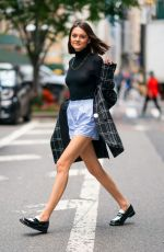 CHARLOTTE LAWRENCE Out and About in New York 06/03/2019