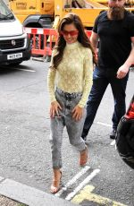 CHERYL COLE Arrives at BBC Radio 2 in London 06/15/2019