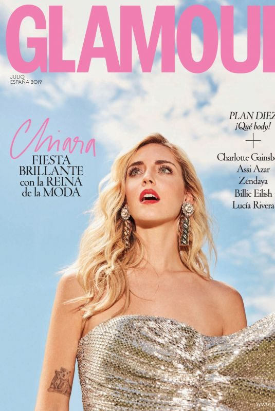 CHIARA FERRAGNI in Glamour Magazine, Spain July 2019