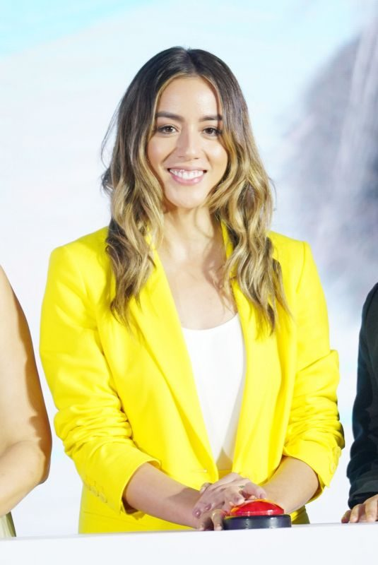 CHLOE BENNET at Abominable Press Conference in Shanghai 06/22/2019