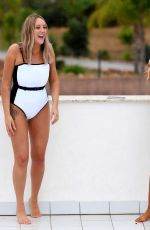 CHLOE FERRY and CHARLOTTE CROSBY in Swimsuits in Ibiza, June 2019