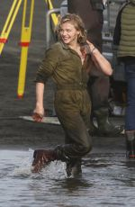 CHLOE MORETZ on the Set of Shadow in the Cloud in New Zealand 06/10/2019