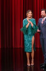 CHRISSY TEIGEN at Tonight Show Starring Jimmy Fallon 06/24/2019