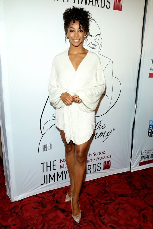 CHRISTIANI PITTS at Jimmy Awards in New York 06/24/2019