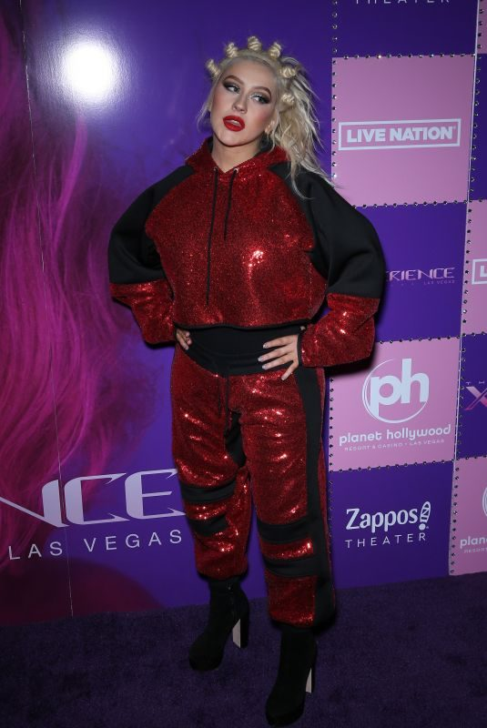 CHRISTINA AGUILERA at Christina Aguilera: The Xperience Show Launch in Las Vegas 05/31/2019