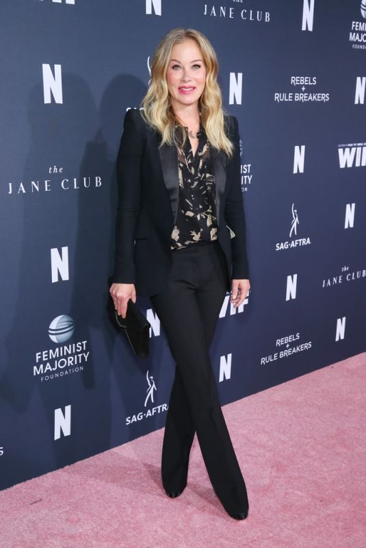 CHRISTINA APPLEGATE at FYC Netflix Event Rebels and Rule Breakers in Los Angeles 06/02/2019