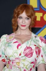 CHRISTINA HENDRICKS at Toy Story 4 Premiere in Los Angeles 06/11/2019