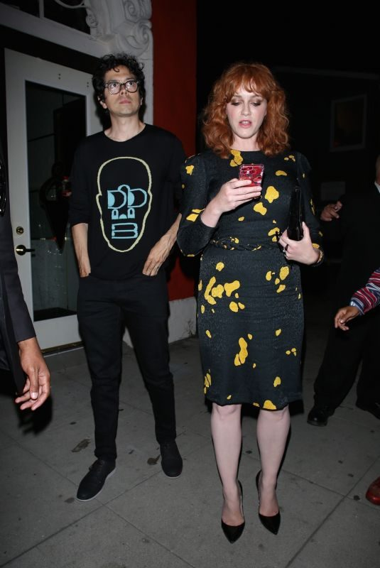 CHRISTINA HENDRICKS Leaves Too Old to Die Young Premiere in Los Angeles 06/10/2019