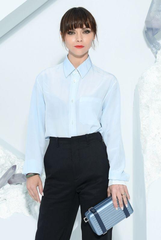 CHRISTINA RICCI at Dior Homme Menswear Spring/Summer 2020 Fashion Show in Paris 06/21/2019