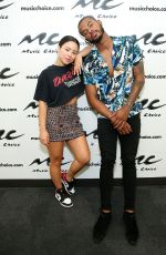 CIERRA RAMIREZ at Music Choice in New York 06/27/2019