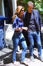 CINDY CRAWFORD and Rande Gerber Leaves Mercer Hotel in New York 06/11/2019
