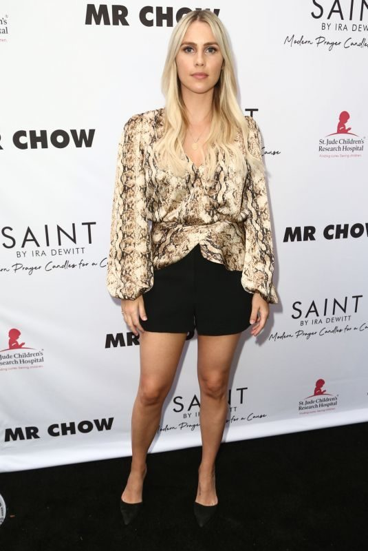 CLAIRE HOLT at Saint for St. Jude Event at Mr. Chow in Beverly Hills 06/12/2019