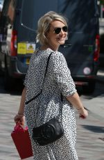 CLAIRE RICHARDS at ITV Studios in London 06/27/2019