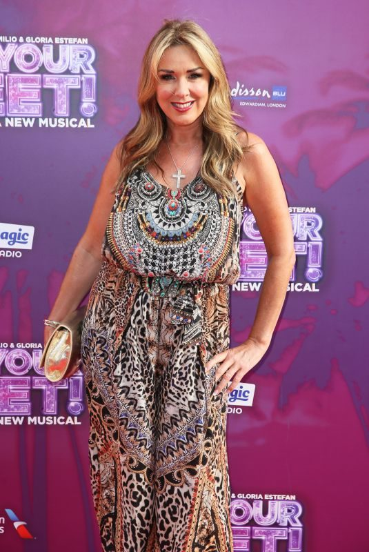 CLAIRE SWEENEY at On Your Feet! Press Night in London 06/27/2019