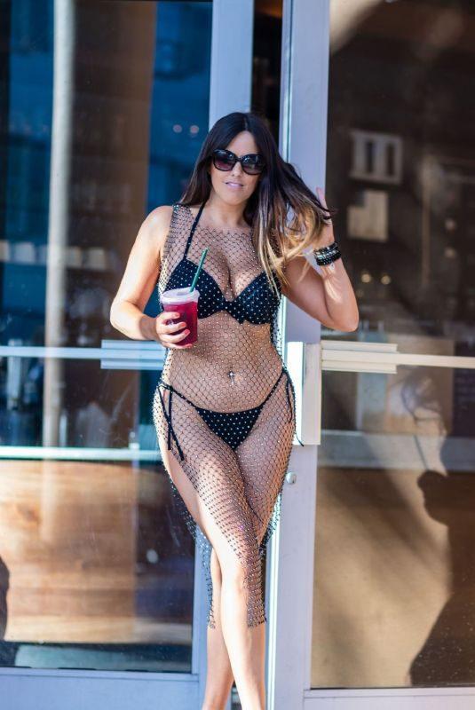 CLAUDIA ROMANI in Bikini Out in South Beach 06/05/2019