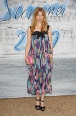 CLEMENCE POESY at Serpentine Gallery Summer Party in London 06/25/2019