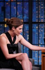 COBIE SMULDERS at Late Night with Seth Meyers in New York 06/17/2019