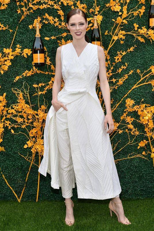 COCO ROCHA at 2019 Veuve Clicquot Polo Classic in Jersey City 06/01/2019