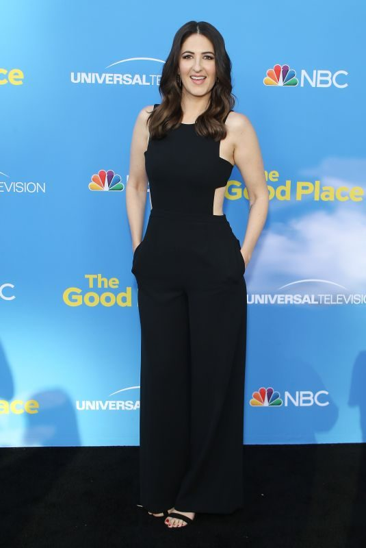D'ARCY CARDEN at The Good Place FYC Event in Los Angeles 06/07/2019